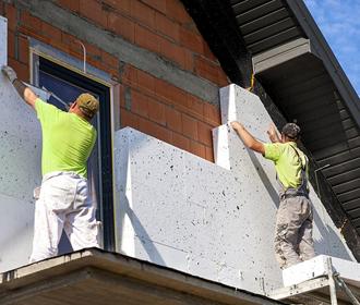 Утепление фасадов. Применяемые материалы и правила проведения работ